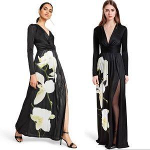 NWT Altuzarra for Target Orchid Satin Maxi Dress